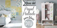 El papel pintado, además de ser para decorar tus paredes y estar súper de moda, podemos usarlo para hacer hermosas manualidades e ideas DIY. ¡Se van a sorprender con estas propuestas!