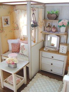 miniature room