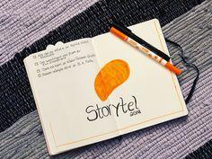 Storytell tracker in my bujo !
