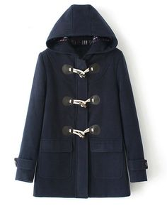 Single Breasted Trendy Hooded Overcoats Only $44.95 USD More info...