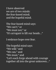 Fear - Hopeful