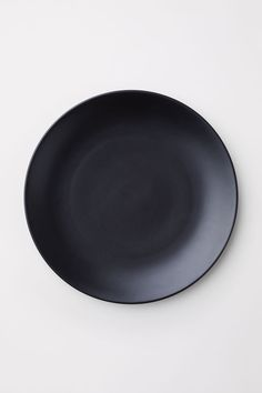 Porcelain plate - Black - | H&M GB 2