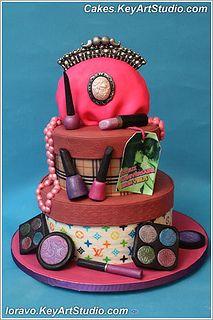 fashionista-II-cake-01 by Cakes.KeyArtStudio.com, via Flickr