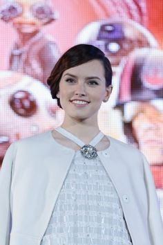 Daisy Ridley at event of Star Wars: Episode VII - The Force Awakens (2015)