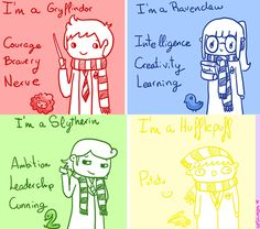 This is adorable, but why do people rip on Hufflepuff so much? Cedric was Hufflepuff and he was freaking awesome!
