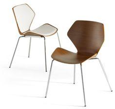 Davis Furniture - Ginkgo  Ginkgo chair in bent plywood by Davis Furniture, 336-889-2009; davisfurniture.com.