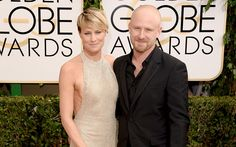 Get The Look: Robin Wright's Hair And Makeup At The Golden Globes