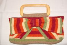 Upcycled Purse From A Ruined (shrunken/felted) Sweater