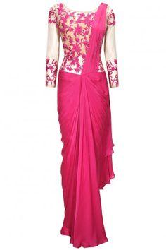 http://www.perniaspopupshop.com/clothing/sari/sonaakshi-raaj-pink-floral-embroidered-pre-stitched-sari-gown-soro4t02151408.html