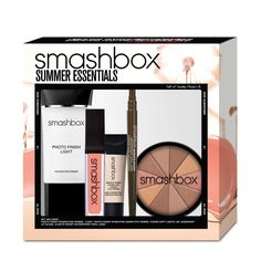 We're huge fans of summertime, but the season requires products that can take the heat. Enter: this summer-ready kit that comes with everything you need for a gorgeous glowing look. Photo Finish Foundation Primer and Photo Finish Hydrating Under Eye Primer ensure your makeup lasts through the most sweltering days, while Fusion Soft Lights helps you create a soft, radiant effect. Swipe the gloss across lips for foolproof color, and glide the liner across lids for easy definition. Bonus: The…