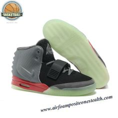 Nike Air Yeezy 2 Grey Solar Black Red