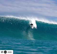 "#Repost @stab  ""If I didnt believe in Huey before I was a devout disciple after this"" said lensman Tom Pearsall (@driftwoodphotography_mr) of last week's sand-bottom session in Western Australia. ""It had one of the most unforgiving inside sections Ive ever had to swim through but so worth it the vibe in the water was electric."" ""It was about six-to-eight foot perfection"" recounts @jeromeforrest (pictured) ""One of those sessions screaming and hooting each other into every wave.""…"