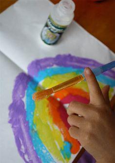 Rainbow arts and crafts