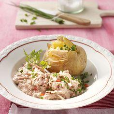 Aardappelen uit de oven met tonijnkwark! #telvrij #WeightWatchers #WWrecept