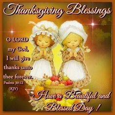 Thanksgiving Blessings | Thanksgiving Blessings Pictures, Photos, and Images for Facebook ...
