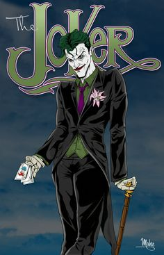 Me and the joker laugh at a challenge and defeat it. Well at least I will.
