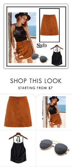 """Shein 2"" by ermina-camdzic ❤ liked on Polyvore featuring shein"