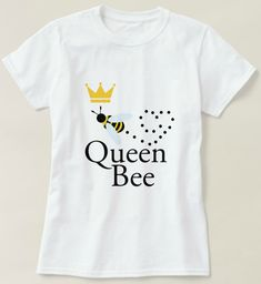 Queen bee t-shirt 100% cotton #ad #bee #bees