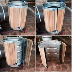 Removable Oak Cladding - Putrino Brew Day - Gallery - Aussie Home Brewer #homebrewingequipment #homebrewingsetup