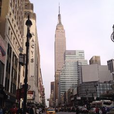Empire State Building - majestic, but no longer tallest one in the City!