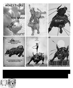LA BAILARINA Y EL TORO; Análisis de la propuesta visual de Adbusters en torno al movimiento Occupy WallStreet