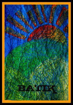 crayon batik