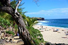 Plage de Boucan Canot, Réunion partez en voyage maintenant www.airbnb.fr/c/jeremyj1489 http://abnb.me/e/1Bw4yfnlSC