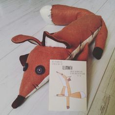 Pdf sewing pattern fox The little prince