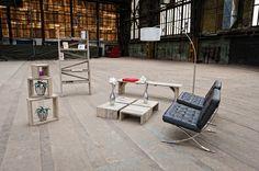 De origineelste meubels van steigerhout
