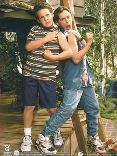 Shawn and Cory in 90s glory.