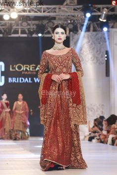 PFDC L'Oreal Paris Bridal Week 2016 Pictures Day 1 | Style.Pk