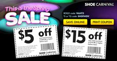 Save On Amazing Shoes at Shoe Carnival