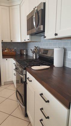 Wooden Counter, Coastal Furniture, Trading Company, Big Fish, Countertops, Kitchen Cabinets, Home Decor, Counter Tops, Restaining Kitchen Cabinets