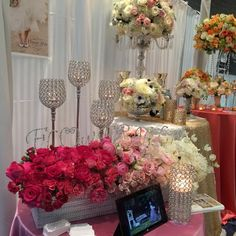 Gorgeous #wedding #flowers by @Flower Allie at the #premierbridalshows Visit their booth this Sunday 1/12/14 at the Sheraton Cerritos