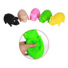 Screaming Pig Toys for Release Pressure Stress New Novelty Funny Toy Color Random