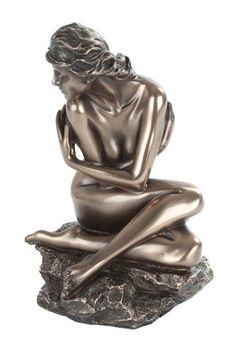Art deco nude juliette erotic statue figure bronze new $38.38