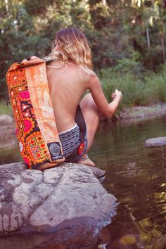 Yoga mat bag from yoga heaven!