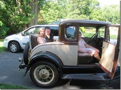 #192 Ride in a rumble seat.