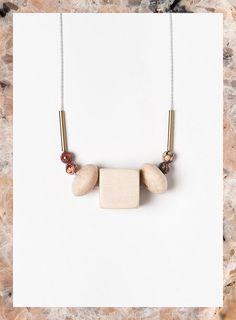 Terrestre 04 necklace by Depeapa by depeapa on Etsy,