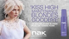 Kiss High Maintenance Blondes Goodbye #nakhair #thenakcollective High Maintenance, Blondes, Hairdresser, Blonde Hair, Kiss, Hairstyles, Lace, Blog, Collection