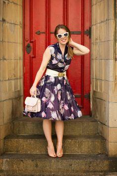 Ruthie Darling: Vintage Belle Floral dress