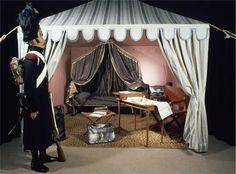 Chambre de l'Empereur. Emperor Napoleon's Campaign Tent.