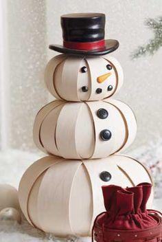 Top Hat Snowman-