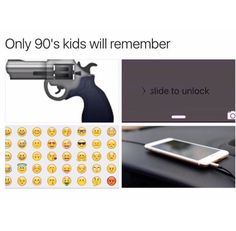 :,) PS. Everyone calm down. This is a joke. Of course it was later than the 90s but it's just a parody of all those other 90s kid posts because of the new iPhone update. iOS10