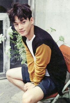 ★ EXO 150721 @ star1 magazine roughly scan ★ | BAEKYHUN | EXO ROOM12