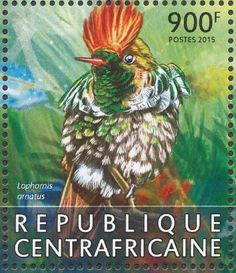 Tufted Coquette stamps - mainly images - gallery format