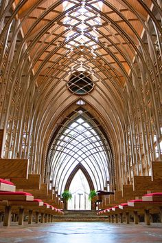 Thorncrown Chapel ~ Glass Church in Eureka Springs, Arkansas