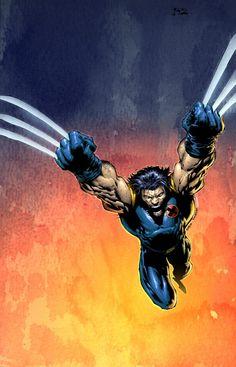 Wizard cover 142 Wolverine | By: Edgar Delgado, via Cruzine