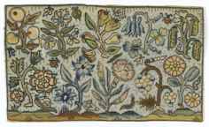 Embroidered Picture, 17th century
