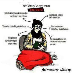 Kitap Kurdu S Word, Bookstagram, Book Worms, Karma, Fandoms, Motivation, Reading, Memes, Funny